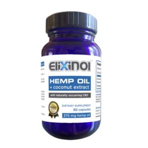 Elixinol CBD Capsules 450mg